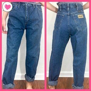Wrangler high waisted Mom jeans 30